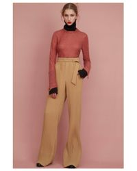 Veronique Leroy   Orange Cashmere Wool Sweater   Lyst
