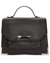 Mackage - Black Leather Jori Satchel Bag - Lyst