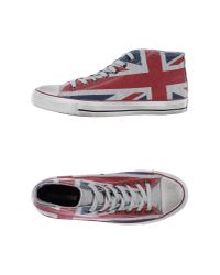 Converse | Red High-tops & Trainers for Men | Lyst