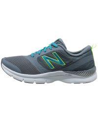 New Balance Gray X711 - Cush+