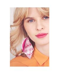 Tatty Devine - Pink Shell Grotto Earrings - Lyst