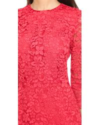 Tory Burch - Pink Lace Gown - Goji - Lyst