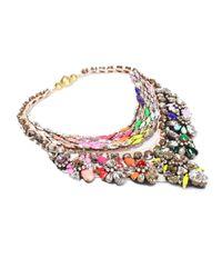 Shourouk | Multicolor River Rainbow Necklace | Lyst