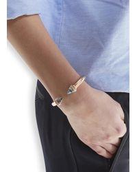 Vita Fede - Pink Titan Shell Rose Gold Plated Bracelet - Lyst