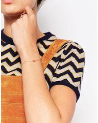 Eyland - Metallic Gold Plated Uma Delicate Bracelet - Lyst