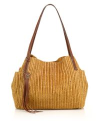 Eric Javits | Natural Aura Woven Shoulder Bag | Lyst