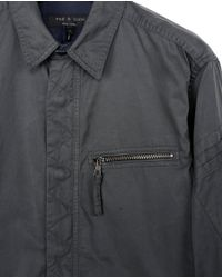 Rag & Bone - Gray Hendon Shirt for Men - Lyst