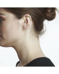 Maya Magal | Metallic Outline Ear Cuff Silver | Lyst