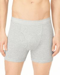 Calvin Klein | Gray Knit Boxer Briefs, 3 Pack for Men | Lyst