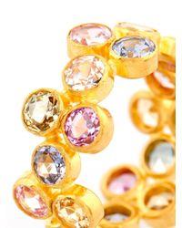 Marie-hélène De Taillac - Multicoloured Sapphire & Yellow-Gold Ring - Lyst