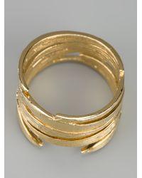 Wouters & Hendrix - Metallic Bamboo Ring - Lyst