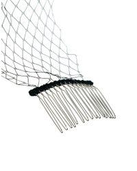 ASOS - Black Veil Hair Combs - Lyst