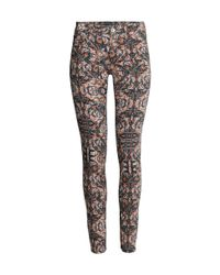 H&M   Black Pull-on Trousers   Lyst
