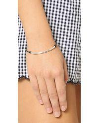 Dogeared - Metallic Balance Tube Bracelet - Lyst