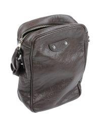 Balenciaga - Brown Cross-body Bag for Men - Lyst