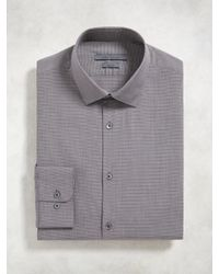 John Varvatos | Purple Slim Fit Dress Shirt for Men | Lyst