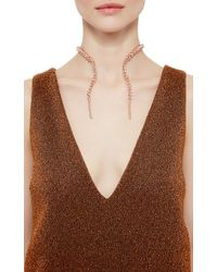 Paula Mendoza | Pink Rose Gold Double Glaucus Bubble Necklace | Lyst