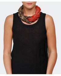 Jianhui | Red Ten Strand Multiway Necklace | Lyst