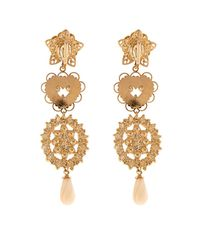 Isabel Marant - Metallic San Pedro Long Drop Earrings - Lyst