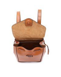 Loeffler Randall - Brown Mini Backpack - Cuoio - Lyst