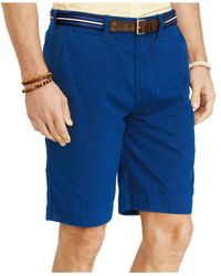 Polo Ralph Lauren - Blue Relaxed-fit Twill Surplus Short for Men - Lyst