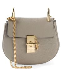 Chloé | Gray Drew Cross-Body Bag | Lyst