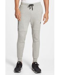 Nike | Gray 'tech Fleece' Pants for Men | Lyst