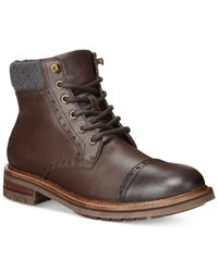 Tommy Hilfiger | Brown Herbie Boots for Men | Lyst