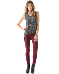Rich & Skinny - Purple Legacy Color Stretch Jeans - Lyst