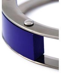 Erika Cavallini Semi Couture | Blue Multi Blocks Bracelet | Lyst