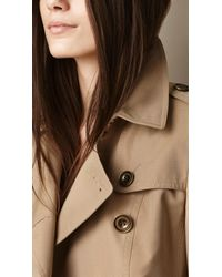 Burberry - Brown Tailored Trench Jacket - Lyst
