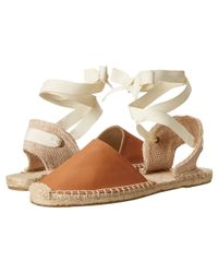 Soludos - Brown Classic Sandal Leather - Lyst