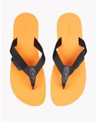 DSquared² - Black Biarritz Sandals for Men - Lyst