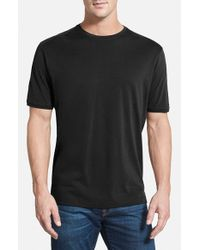 Tommy Bahama | Black 'New Palm Cove' Pima Cotton Blend T-Shirt for Men | Lyst