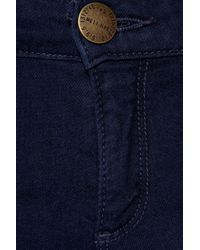Current/Elliott | Blue The Cropped Legging Low-rise Jeans | Lyst