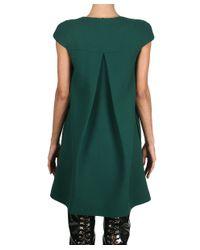 Albino - Green Viscose Dress - Lyst