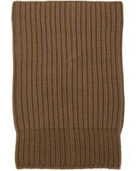 Rick Owens - Brown Draped Knit Beanie - Lyst