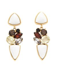 Lizzie Fortunato | Multicolor Geometric Earrings | Lyst