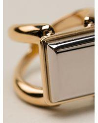 Chloé - Metallic Bague Ring - Lyst