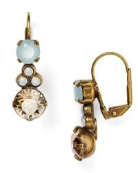 Sorrelli | Metallic Cluster Circle Drop Earrings | Lyst