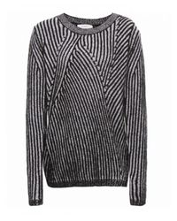 Paul by Paul Smith - Black Twist Knit Sweater - Lyst