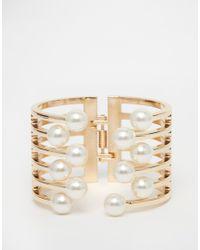 ALDO | Natural Chardoney Cuff Bracelet | Lyst