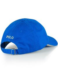 Polo Ralph Lauren | Blue Classic Chino Sports Cap for Men | Lyst