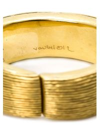 Vaubel | Metallic Multi Line Bangle | Lyst