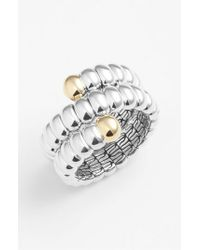 John Hardy | Metallic 'Bedeg' Double Coil Ring | Lyst