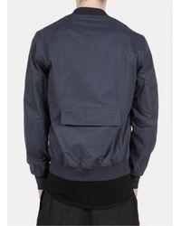 Silent - Damir Doma - Blue Juza Bomber Jacket for Men - Lyst