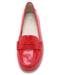 MICHAEL Michael Kors - Red Daisy Loafers - Chili - Lyst