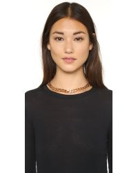 Vita Fede - Pink Franco Crystal Necklace - Lyst