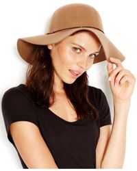 BCBGeneration | Brown Chained Floppy Hat | Lyst