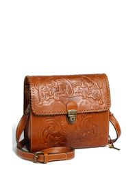 Patricia Nash | Brown 'dante' Crossbody Bag | Lyst